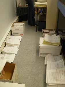 File Storage Room / Sorting Process
